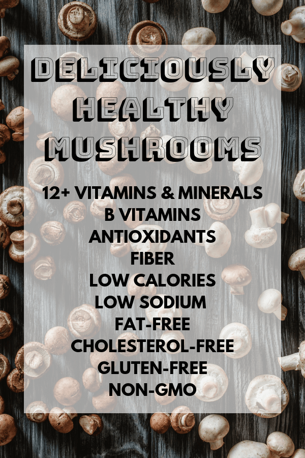 Mushroom Nutrition Facts