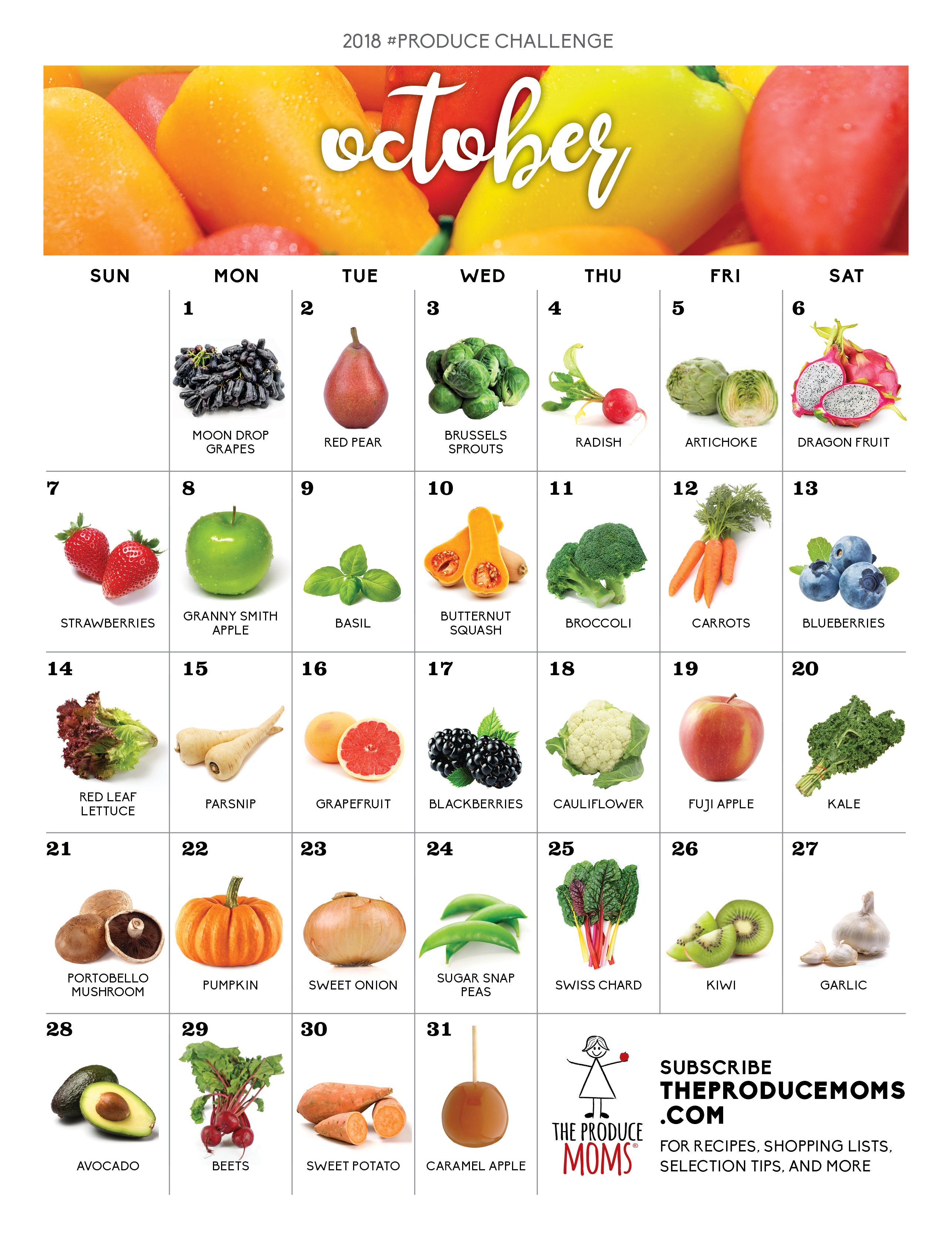 October 2018 Produce Challenge