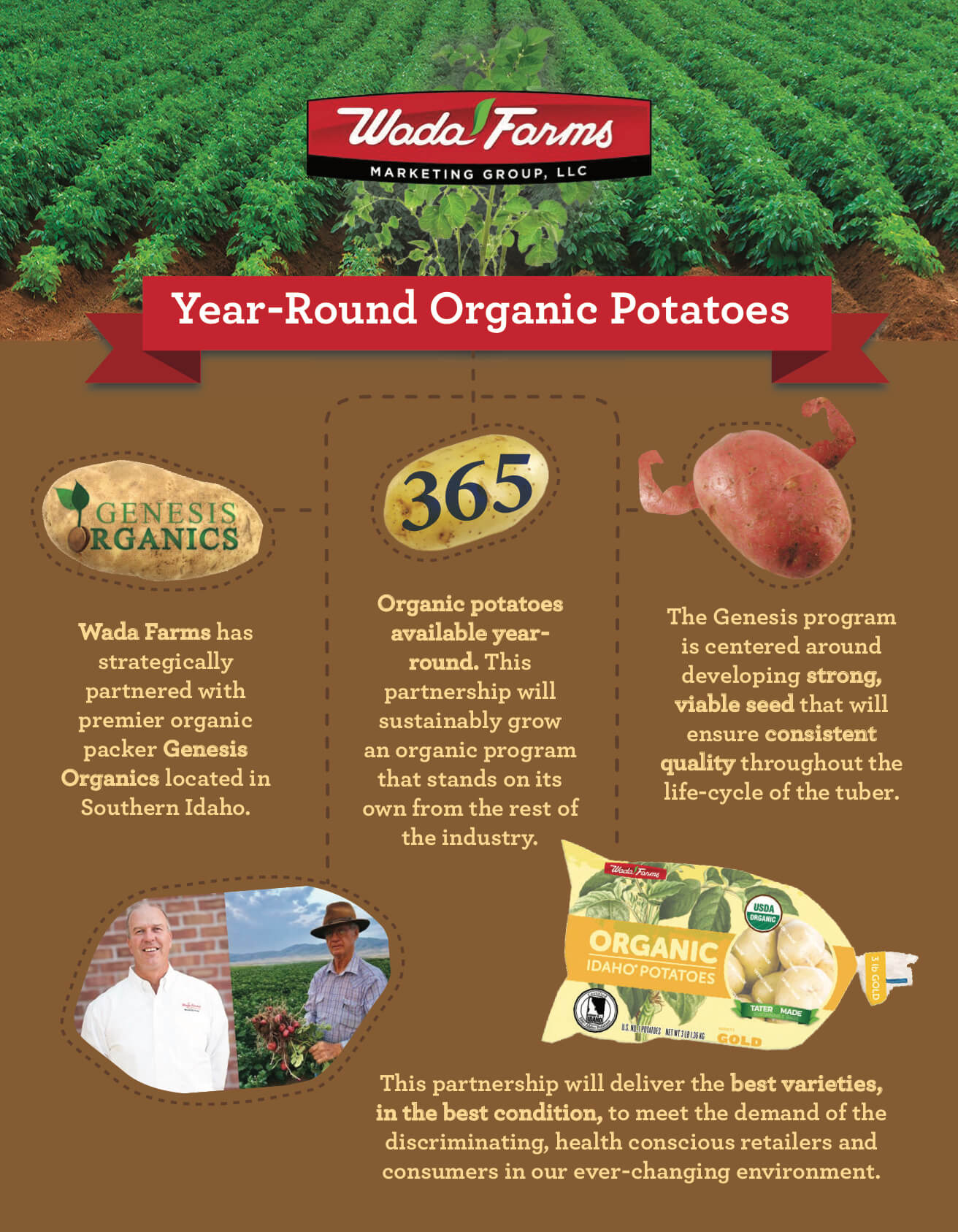Wada Farms - Year-Round Organic Potatoes