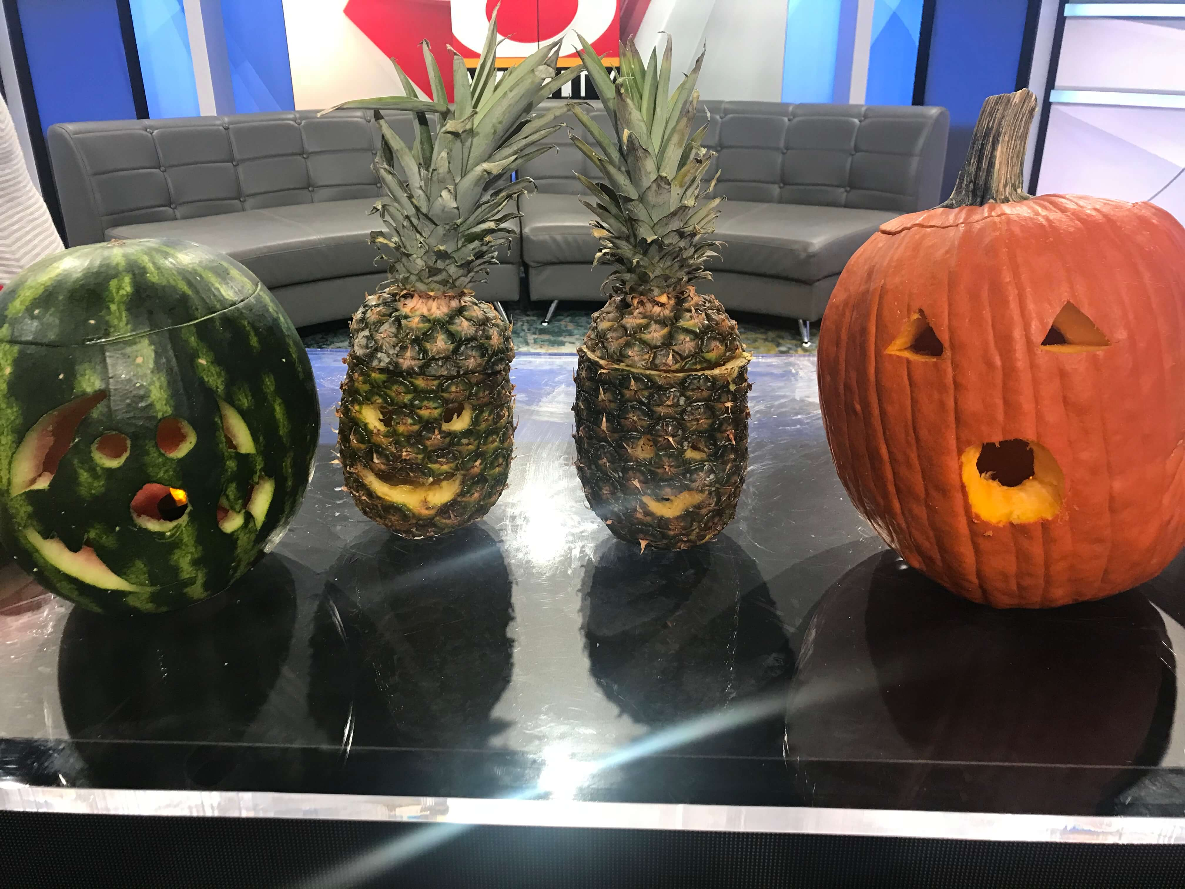 Carving Fresh Produce for Halloween