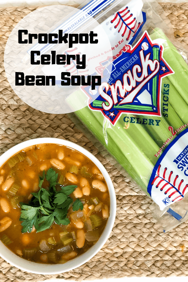 Crockpot Celery Bean Soup
