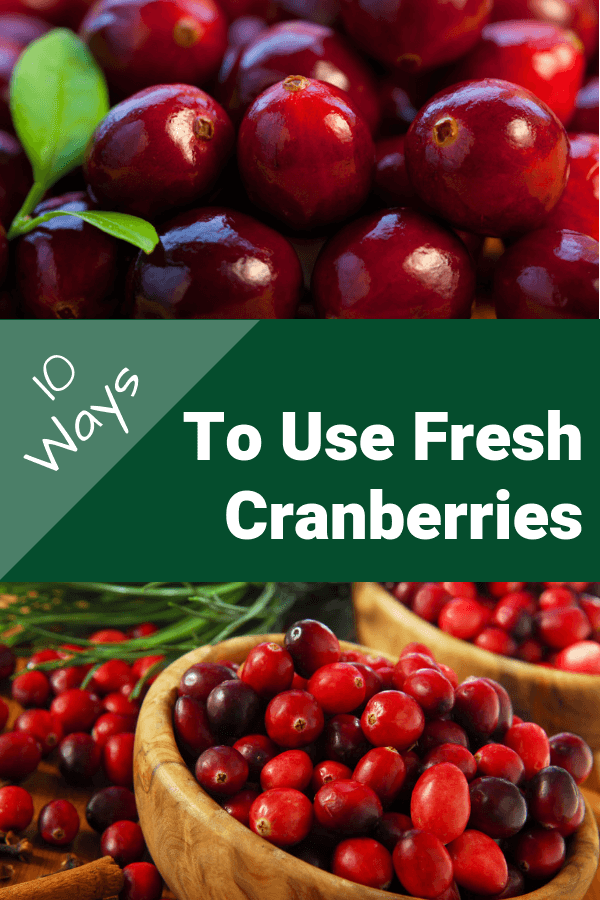 To Use Fresh Cranberries