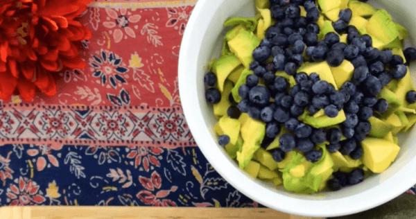Blueberry Guacamole Recipe