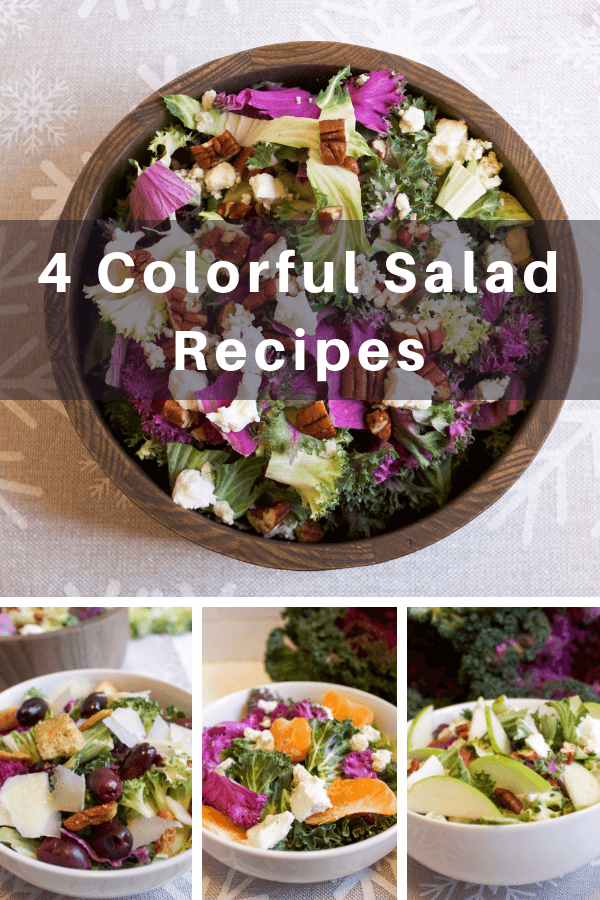 4 colorful salad recipes