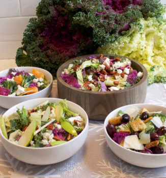 4 Colorful Salads