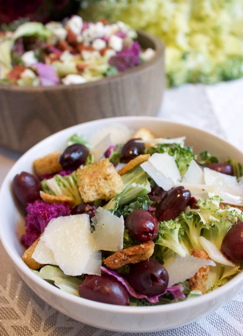 Colorful Salads: Salad Savoy Signature Salad with Mediterranean Vibes