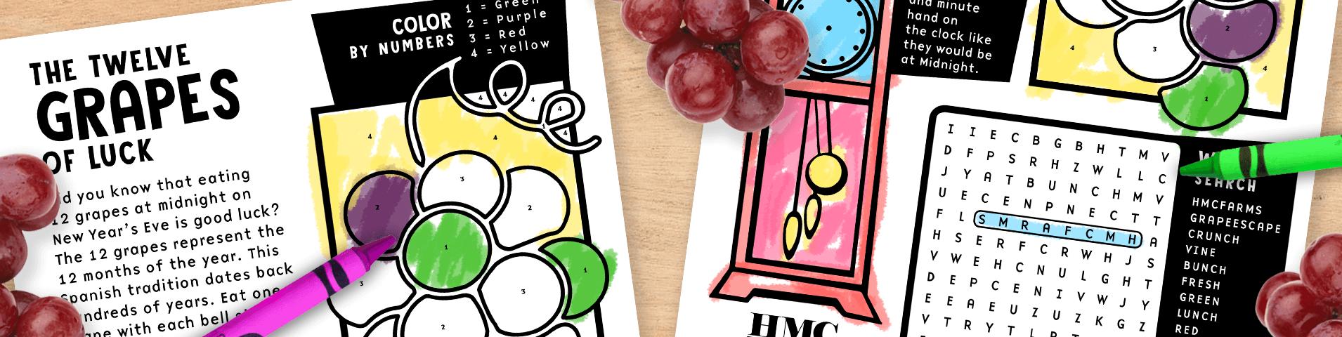 Grapes at Midnight: Activity Sheet