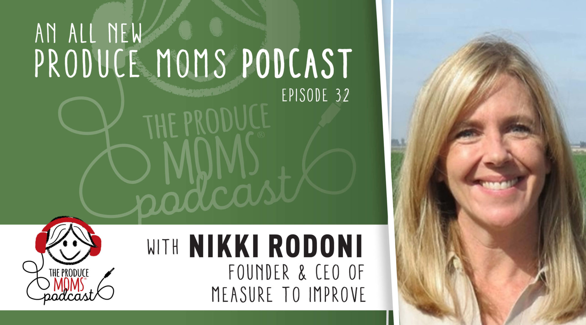 Episode 32: Sustainability for a Healthier Planet with Nikki Rodoni, Founder & CEO of Measure to Improve