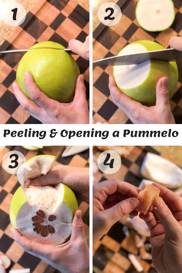 How to Peel a Pummelo
