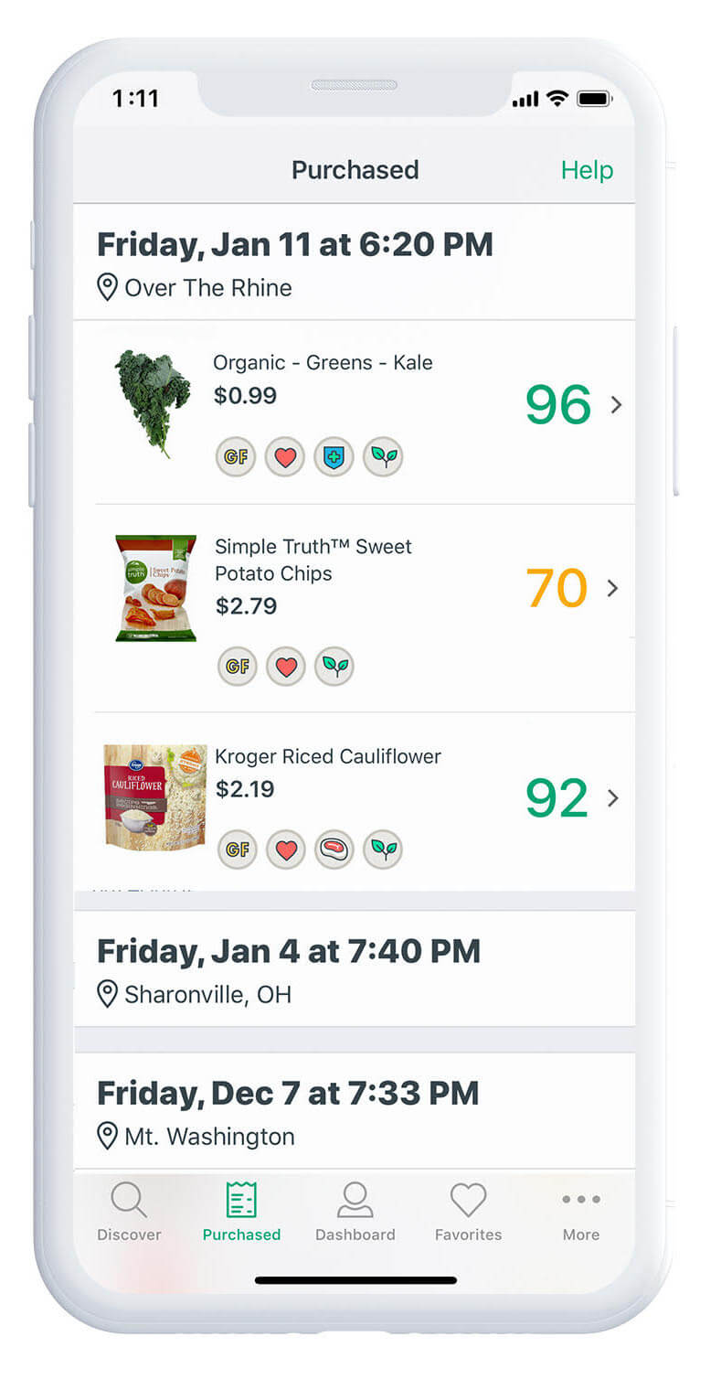 "Kroger's ""OptUP"" App Makes Shopping Healthy Easy"