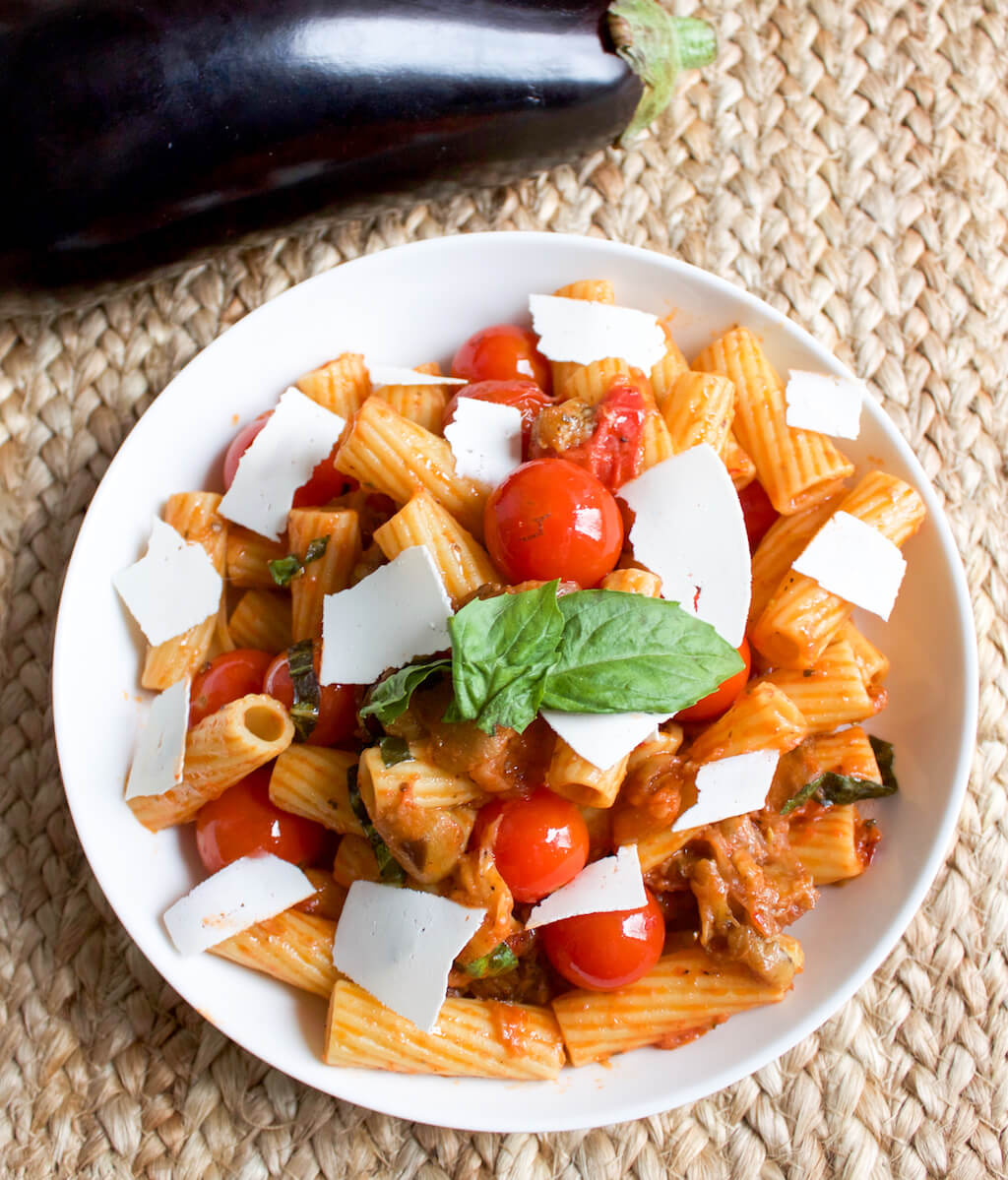 Pasta Alla Norma | 30 Minute Meal