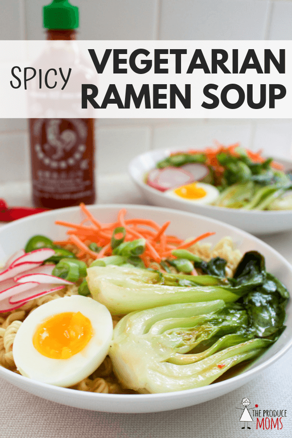 Spicy Vegetarian Ramen Soup Recipe