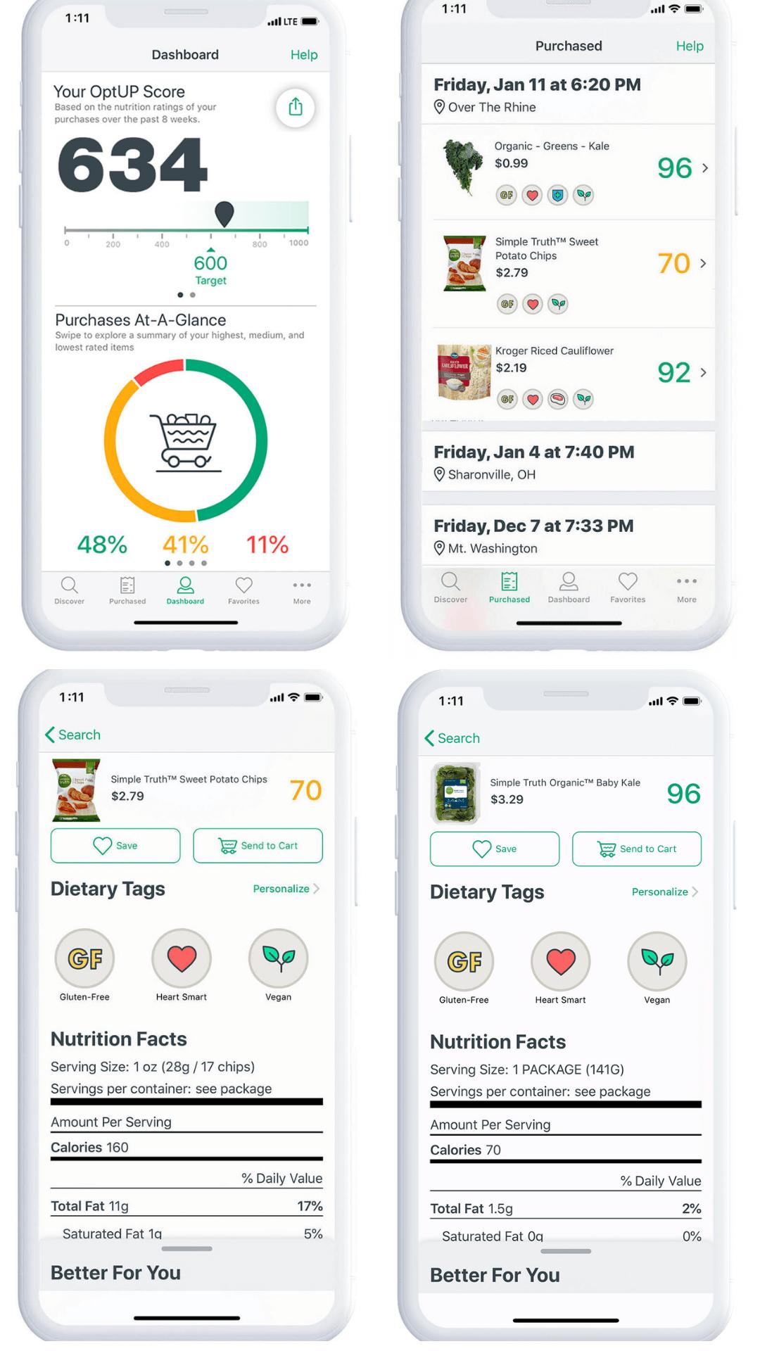 "Kroger's ""OptUP"" App Makes Shopping Healthy Easy"