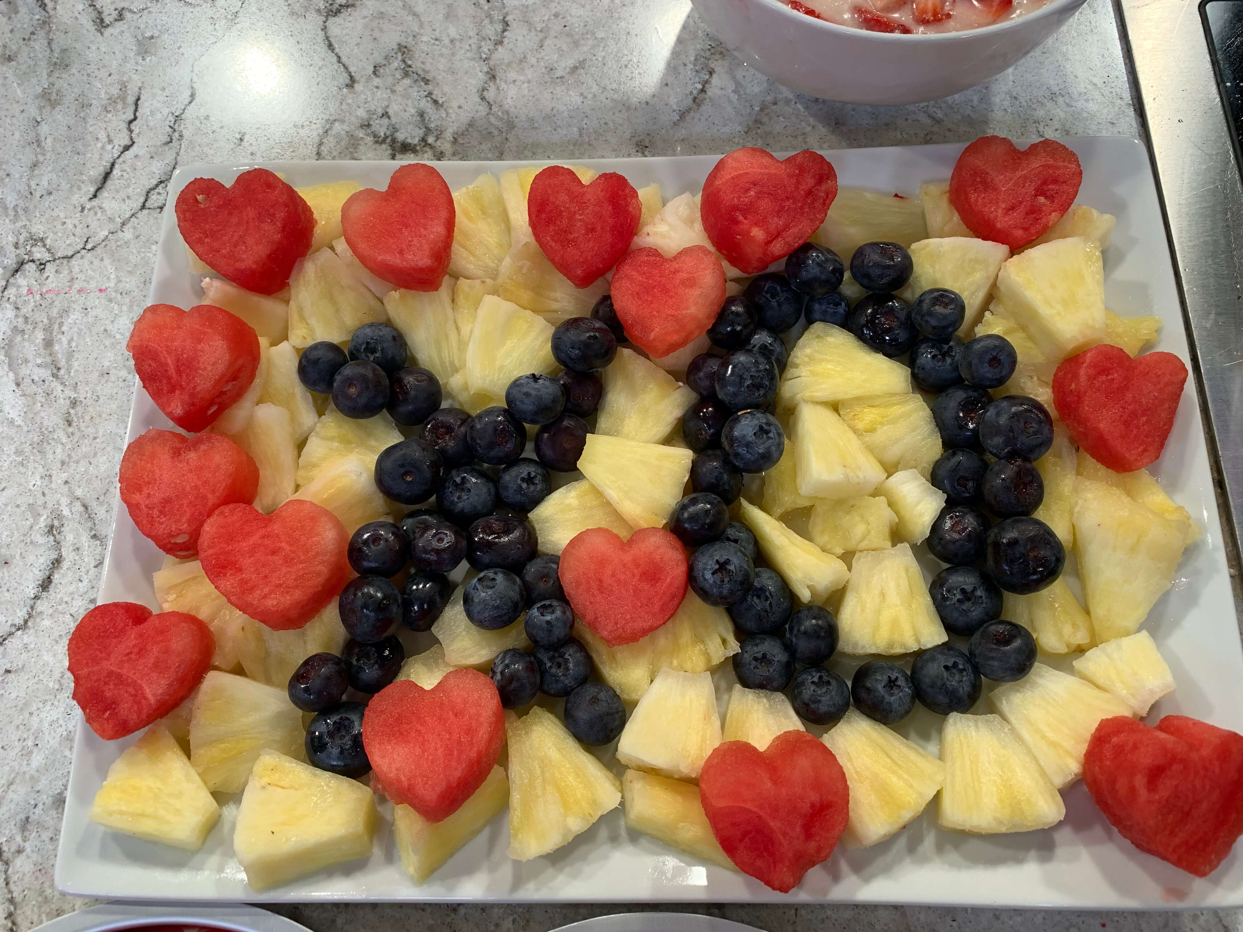 XOXO Fruit Tray