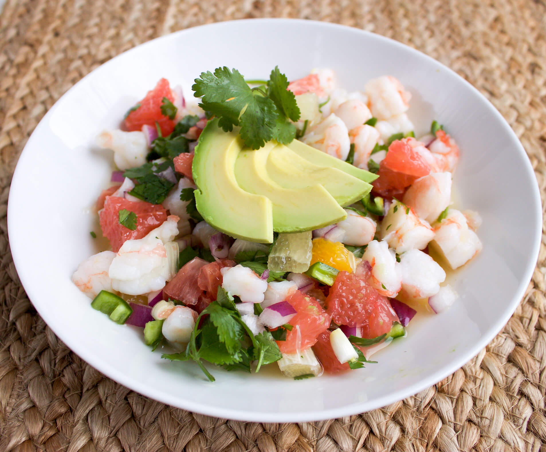 Fresh Citrus Shrimp Ceviche