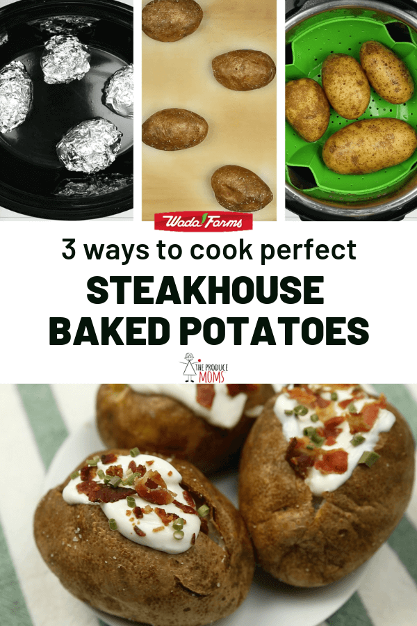 3 Ways to Cook Steakhouse Baked Potatoes