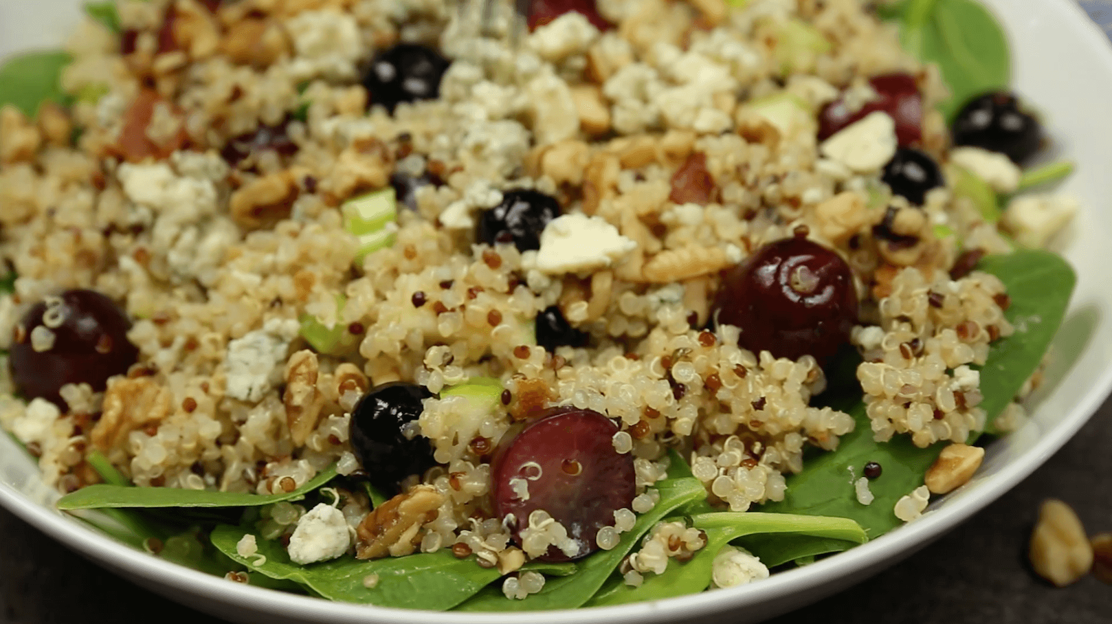Ancient Grain Salad with Blueberries