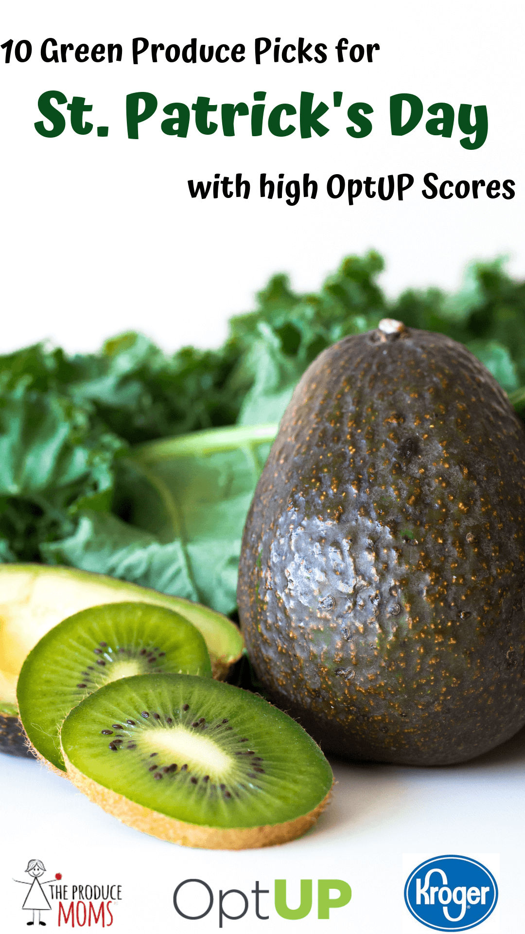 10 St. Patrick's Day Green Produce Picks with Great Scores on Kroger's OptUP App