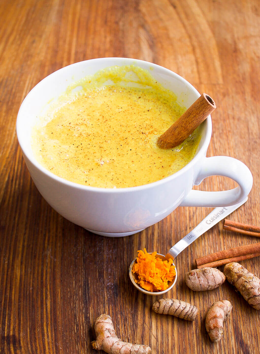 Sleepytime Golden Milk | Turmeric Moon Milk Recipe - The Produce Moms