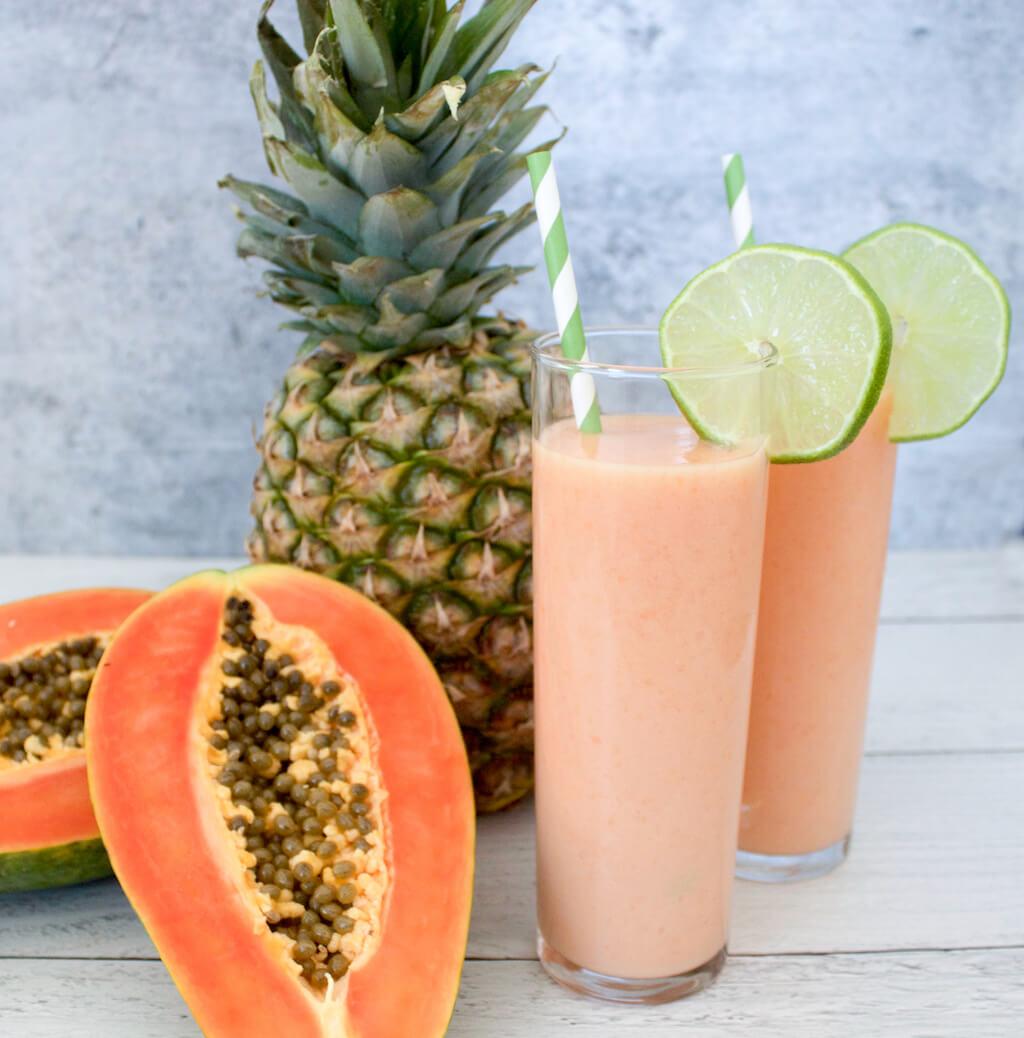 15 Recipes to Help You Escape to the Beach: Papaya Piña Colada