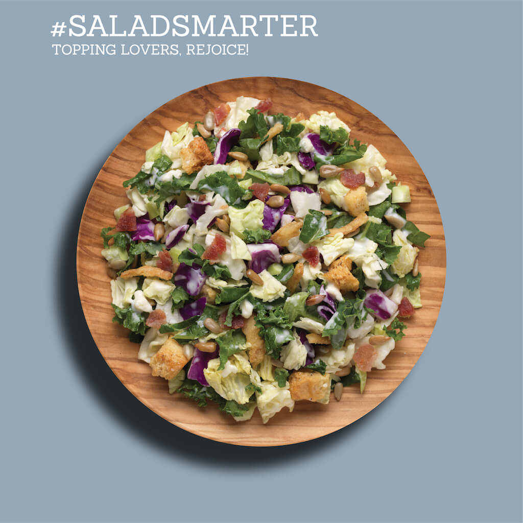 Easy to Eat Smart® with Chopped & Crumbled™ Salad Kits