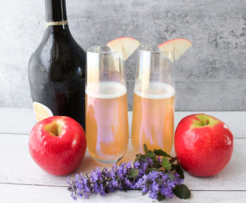 Pink Lady® Apple Mimosas