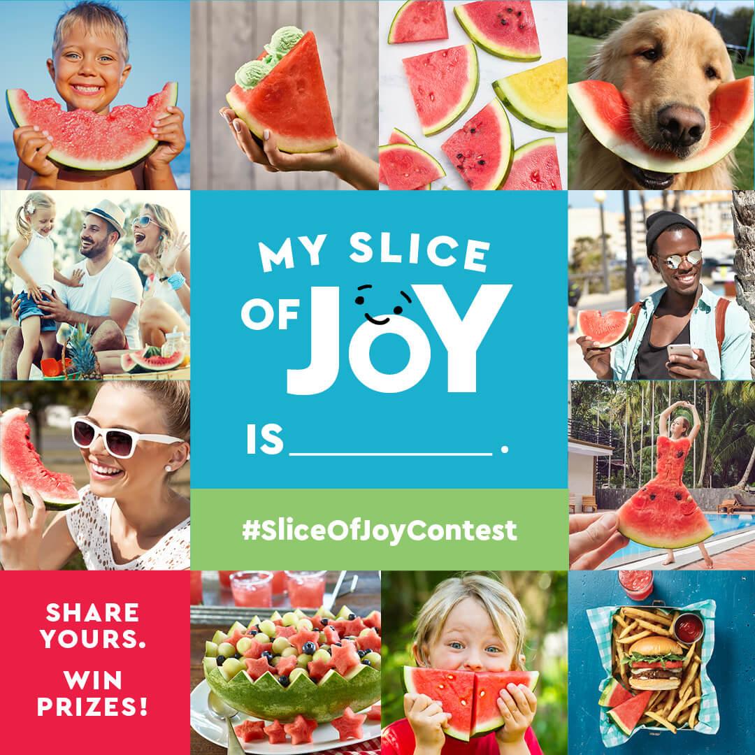 Slice of Joy Instagram Contest