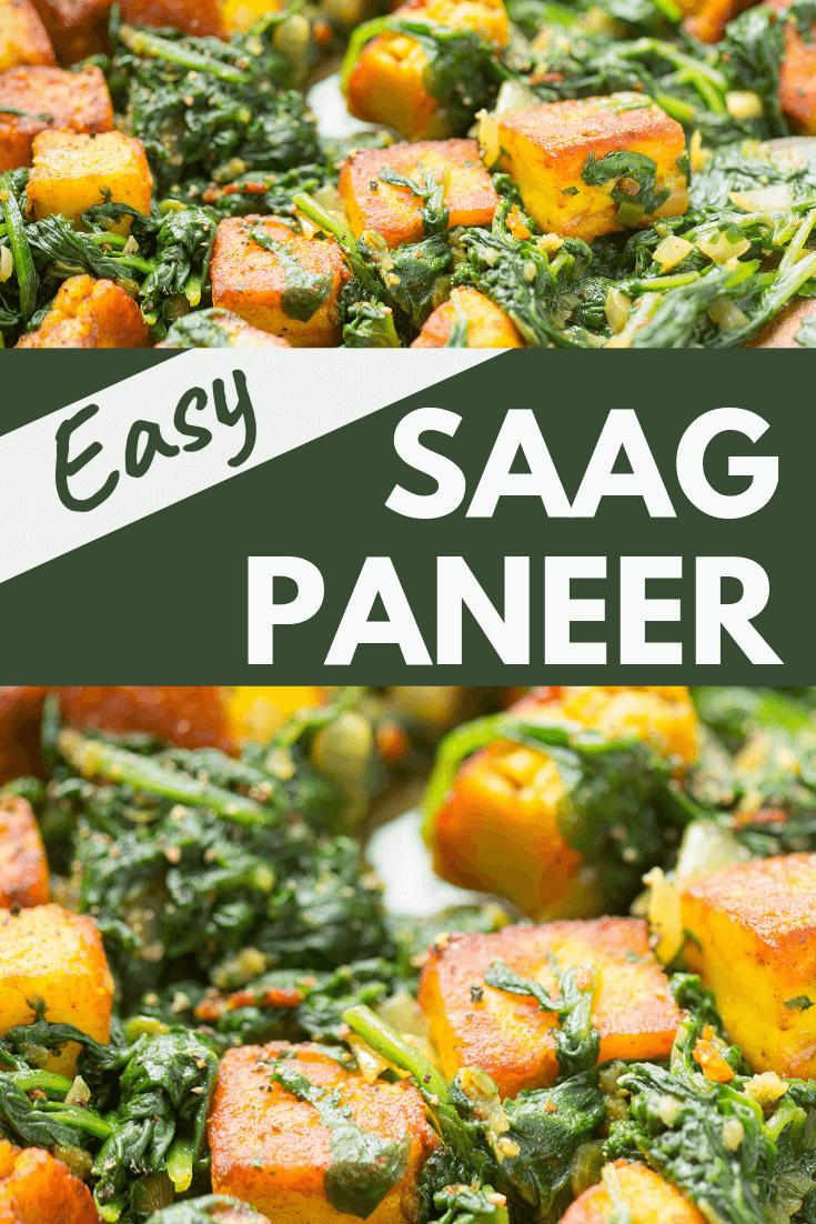 Easy Saag Paneer
