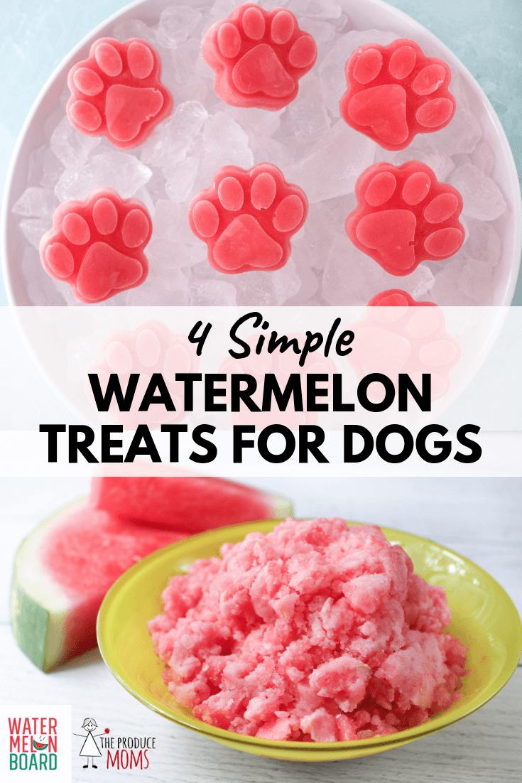 4 Simple Watermelon Dog Treats