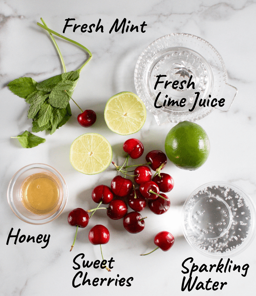 Cherry & Lime Slushie Recipe | No Added Sugar - The Produce Moms