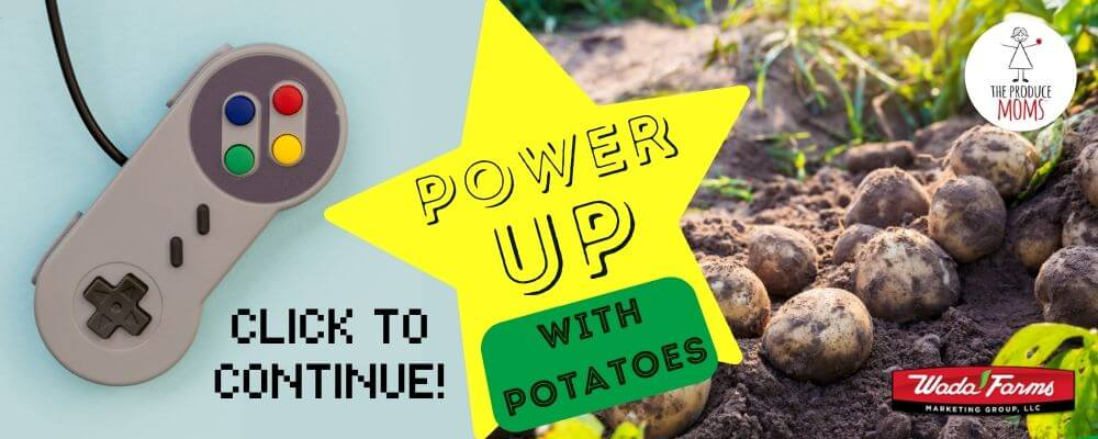 Power Up with Potatoes Banner Ad