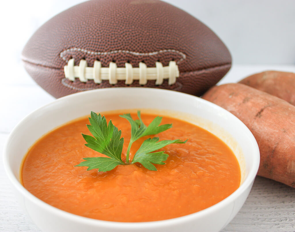 No Fumble Crockpot Sweet Potato Soup