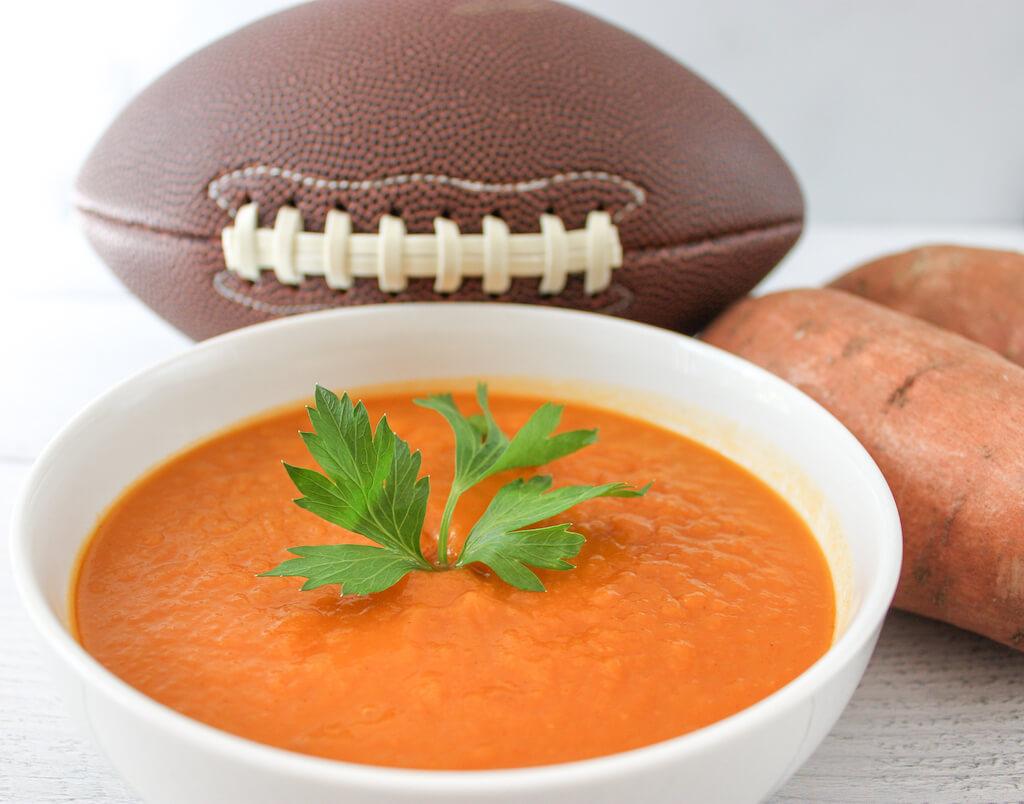 No Fumble Crockpot Sweet Potato Soup