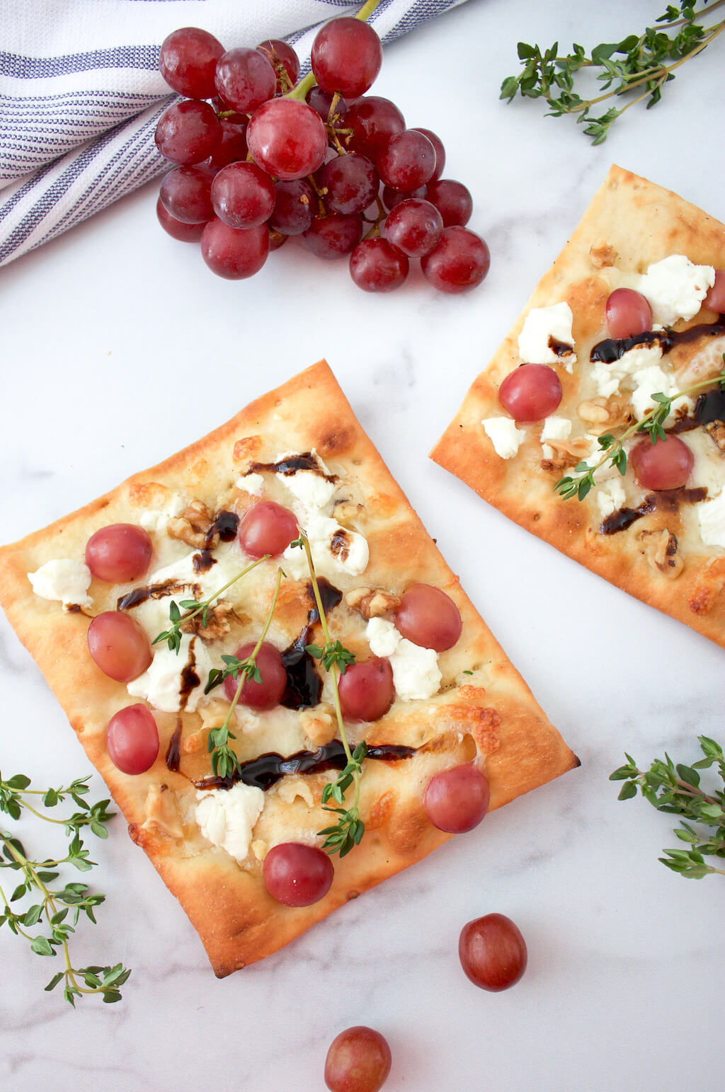 Grape Flatbread Pizza