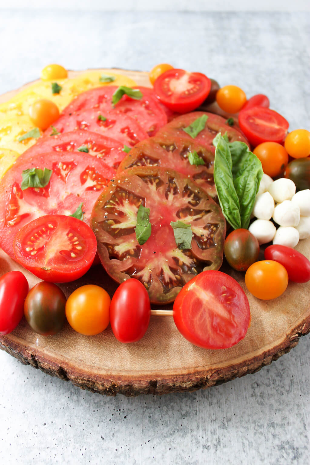 Heirloom Tomato Grazing Board