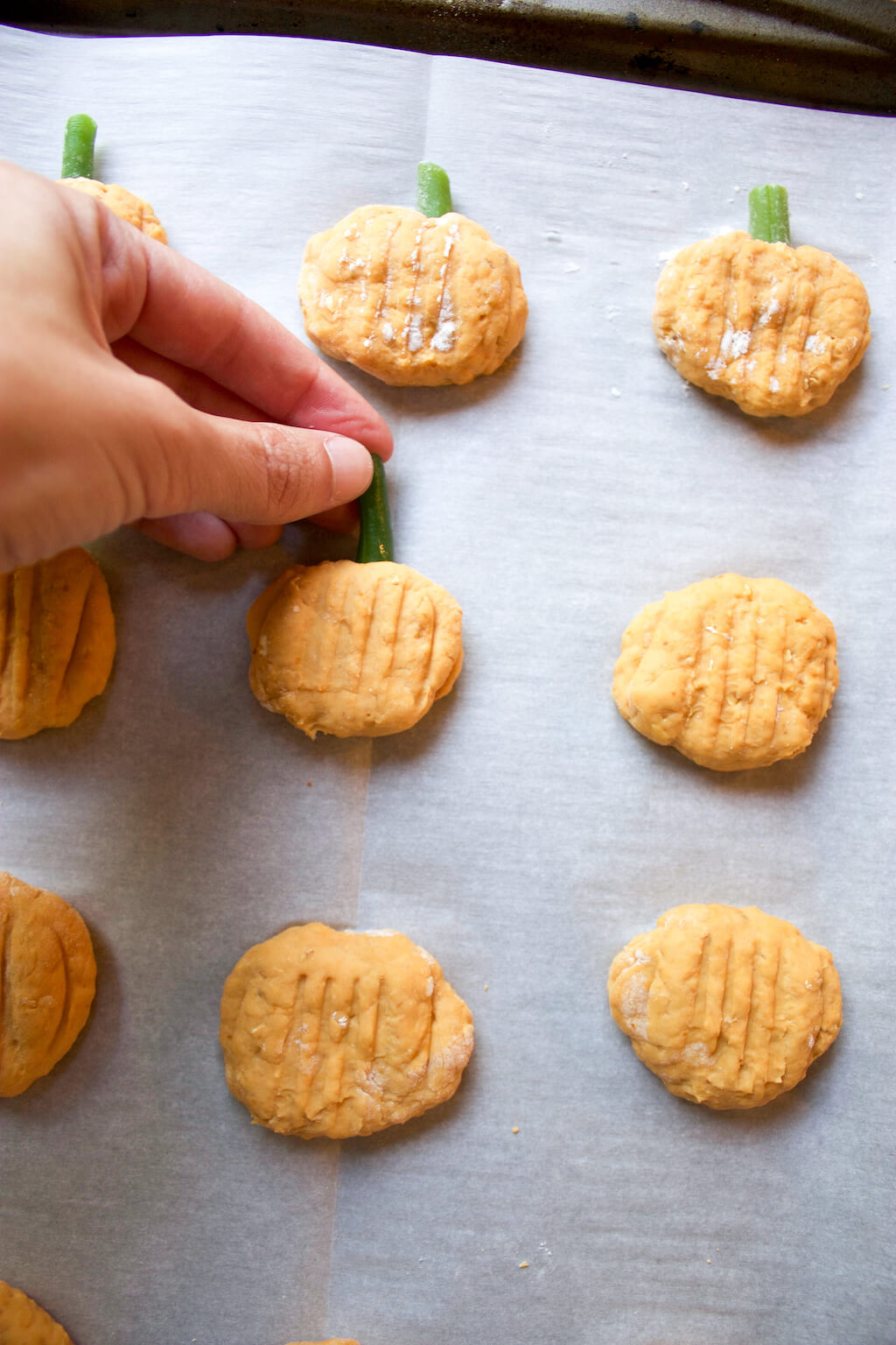 Banana Pumpkin Dog Treats