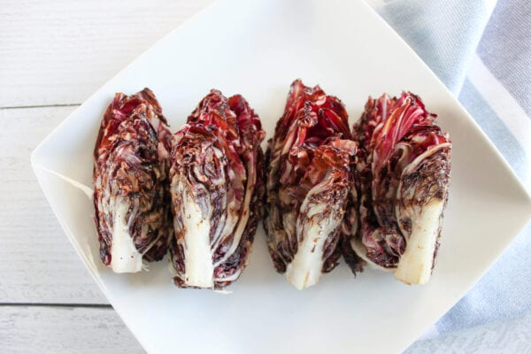 How to grill radicchio
