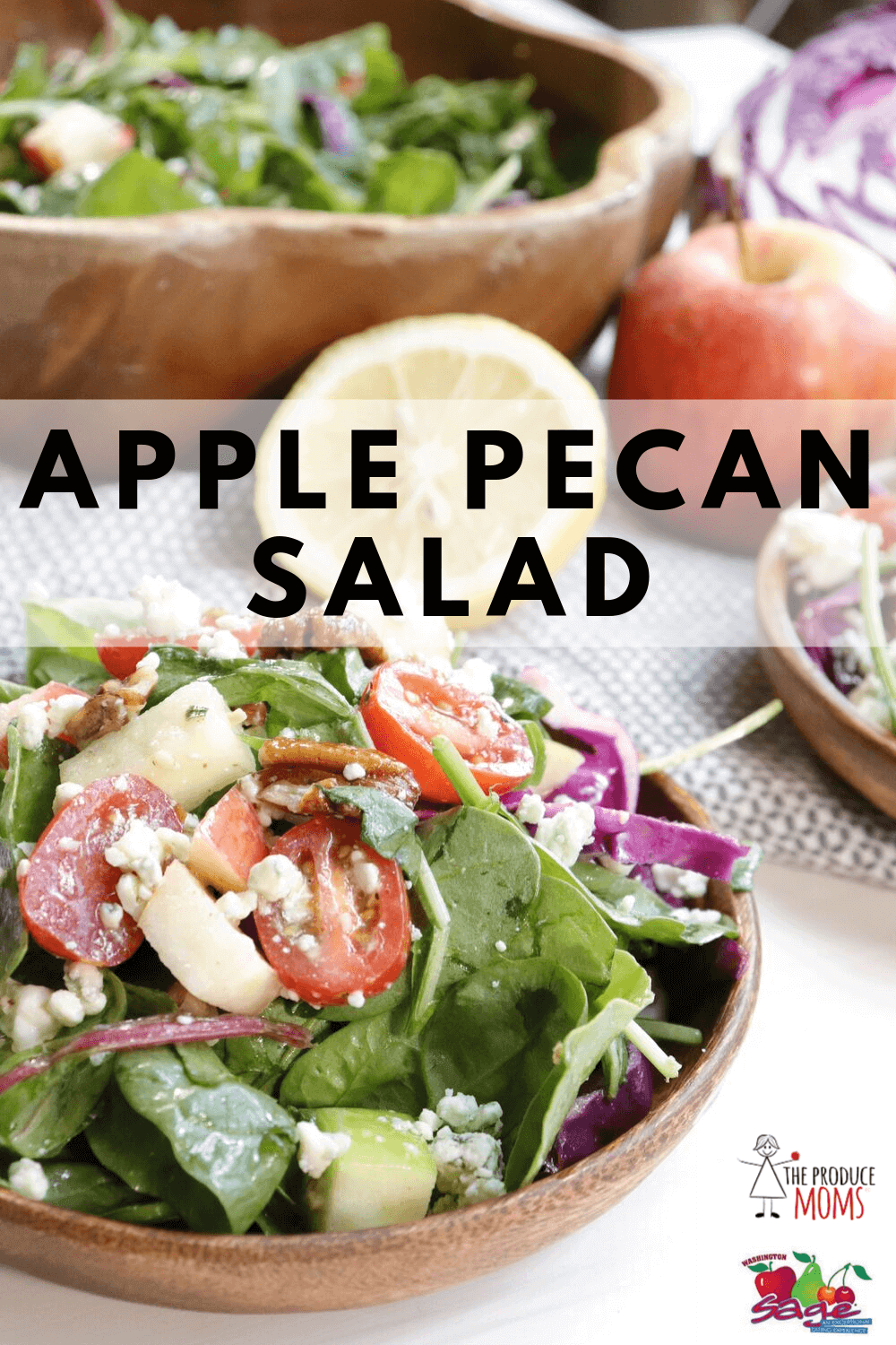 Apple Pecan Salad - Sage Fruit