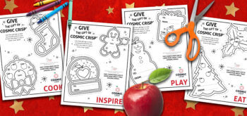 Cosmic Crisp® Apples Make The Perfect Holiday Gift + Printable Gift Tags