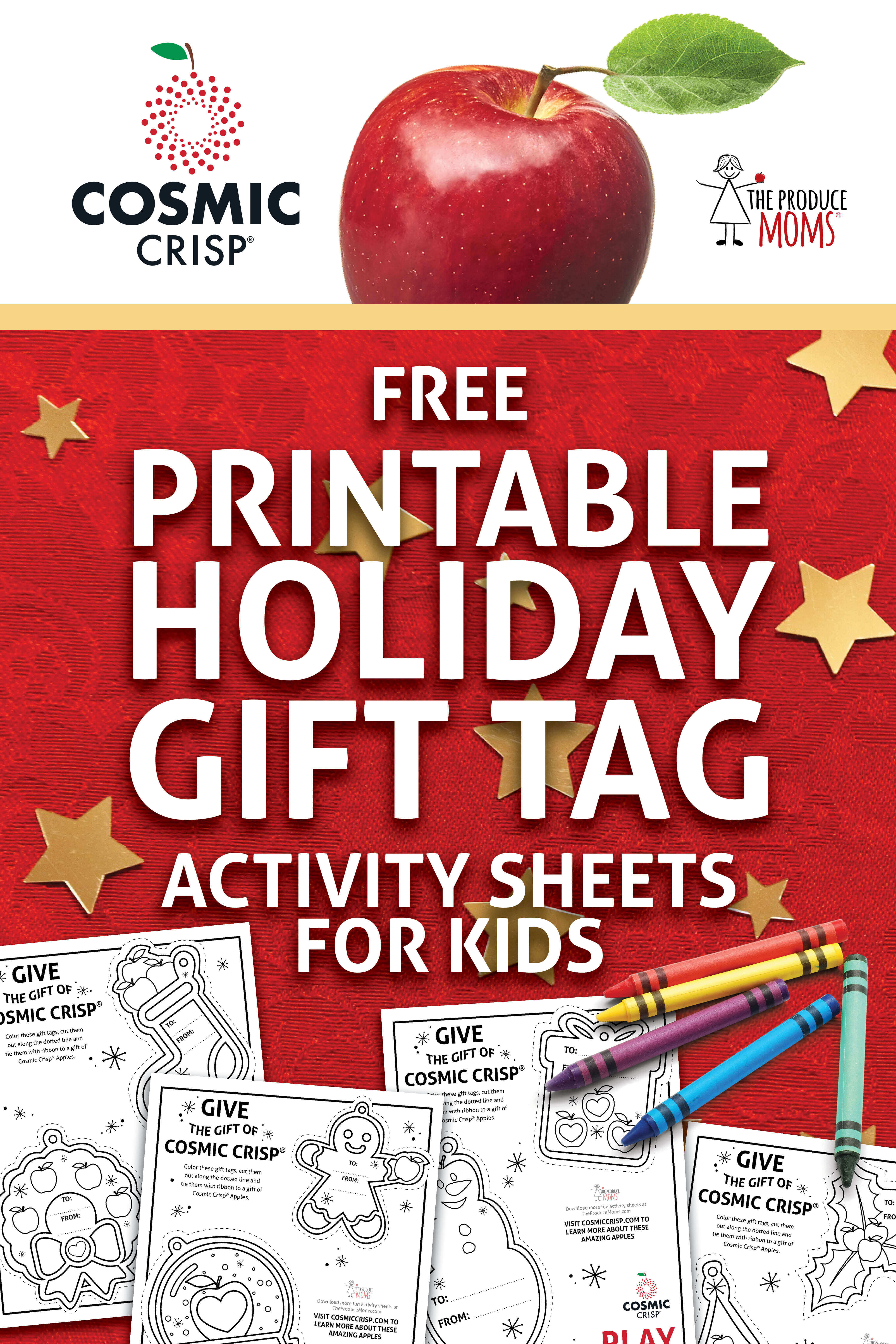 Give The Gift Of Cosmic Crisp® + Printable Gift Tags