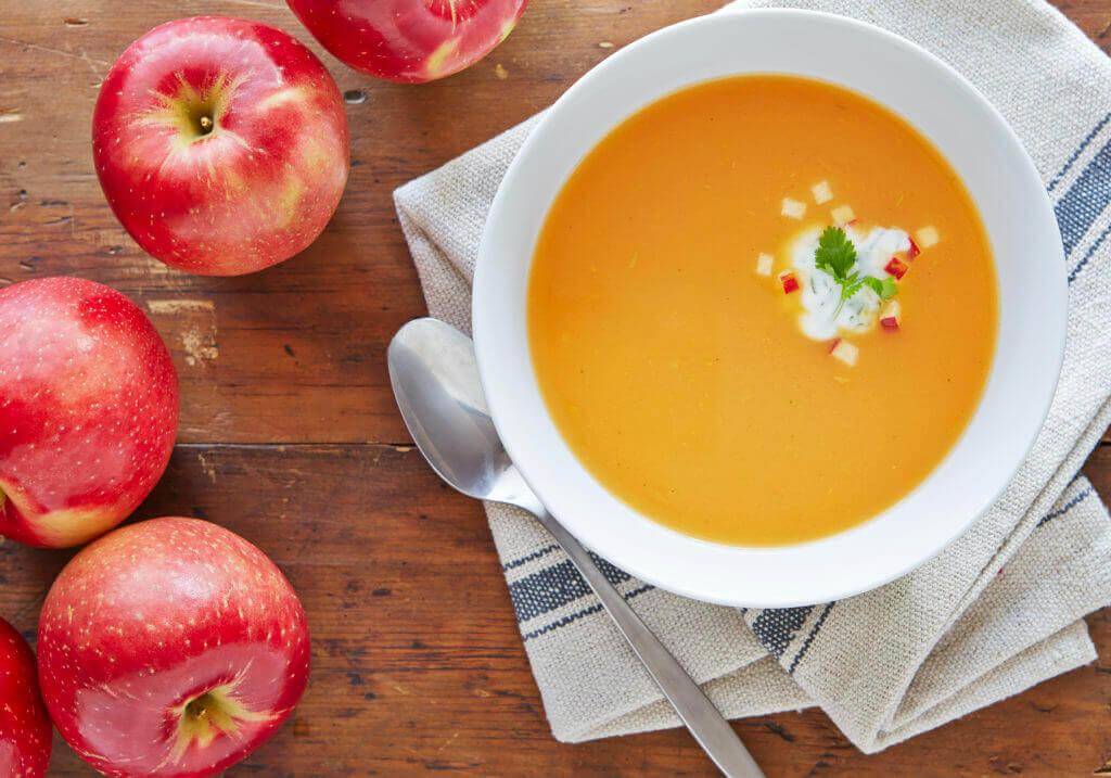 Spicy SweeTango® Apple Sweet Potato Soup