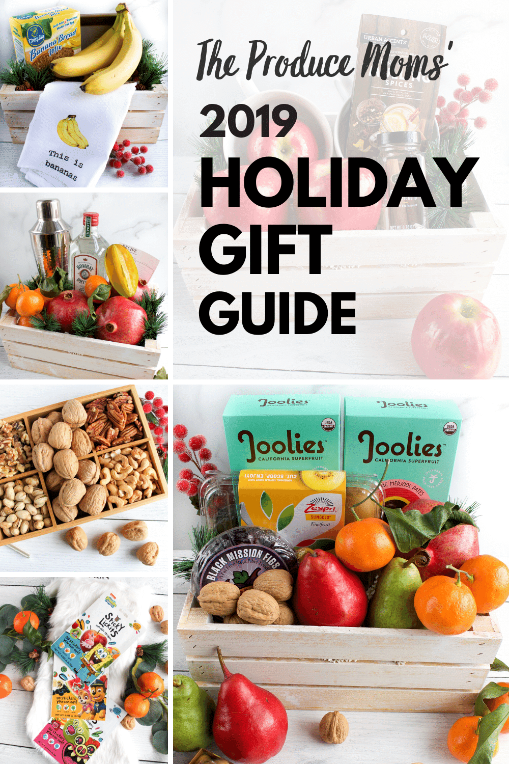 The Produce Moms' 2019 Holiday Gift Guide - Homemade Gift Baskets, Stocking Stuffers, and More
