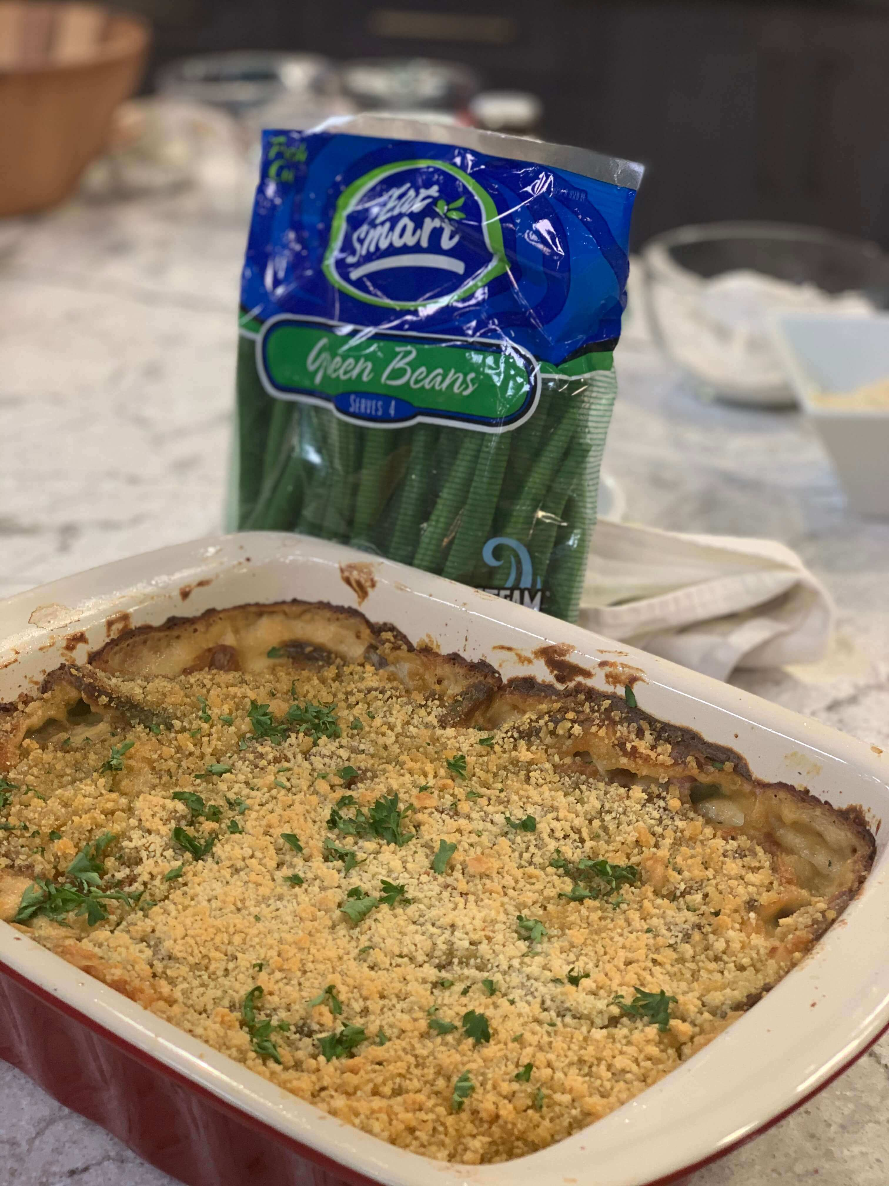 Eat Smart Fresh Green Bean Casserole