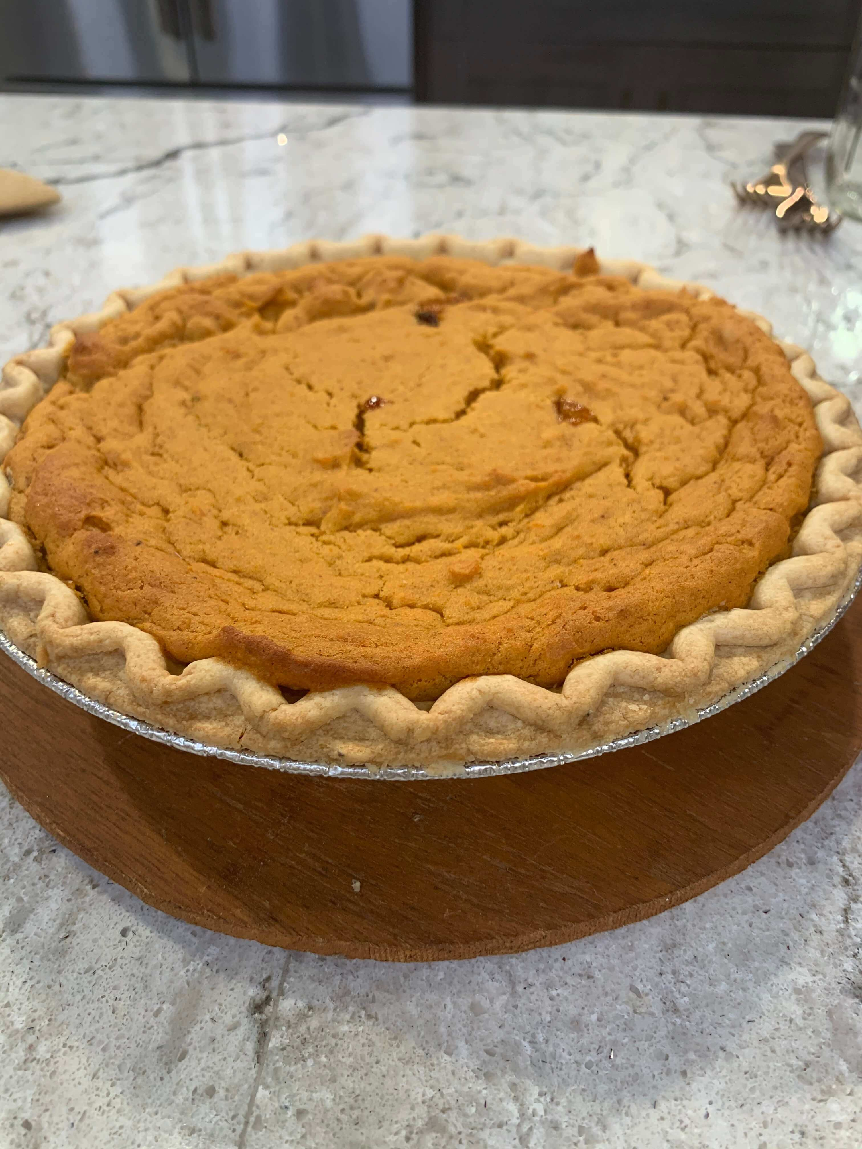 Thanksgiving Sweet Potatoes: Sweet Potato Pie