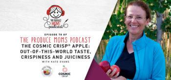 Episode 78: The Cosmic Crisp® Apple: Out-of-This-World Taste, Crispiness, and Juiciness with Kate Evans