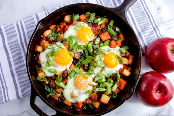 Cosmic Crisp Breakfast Hash