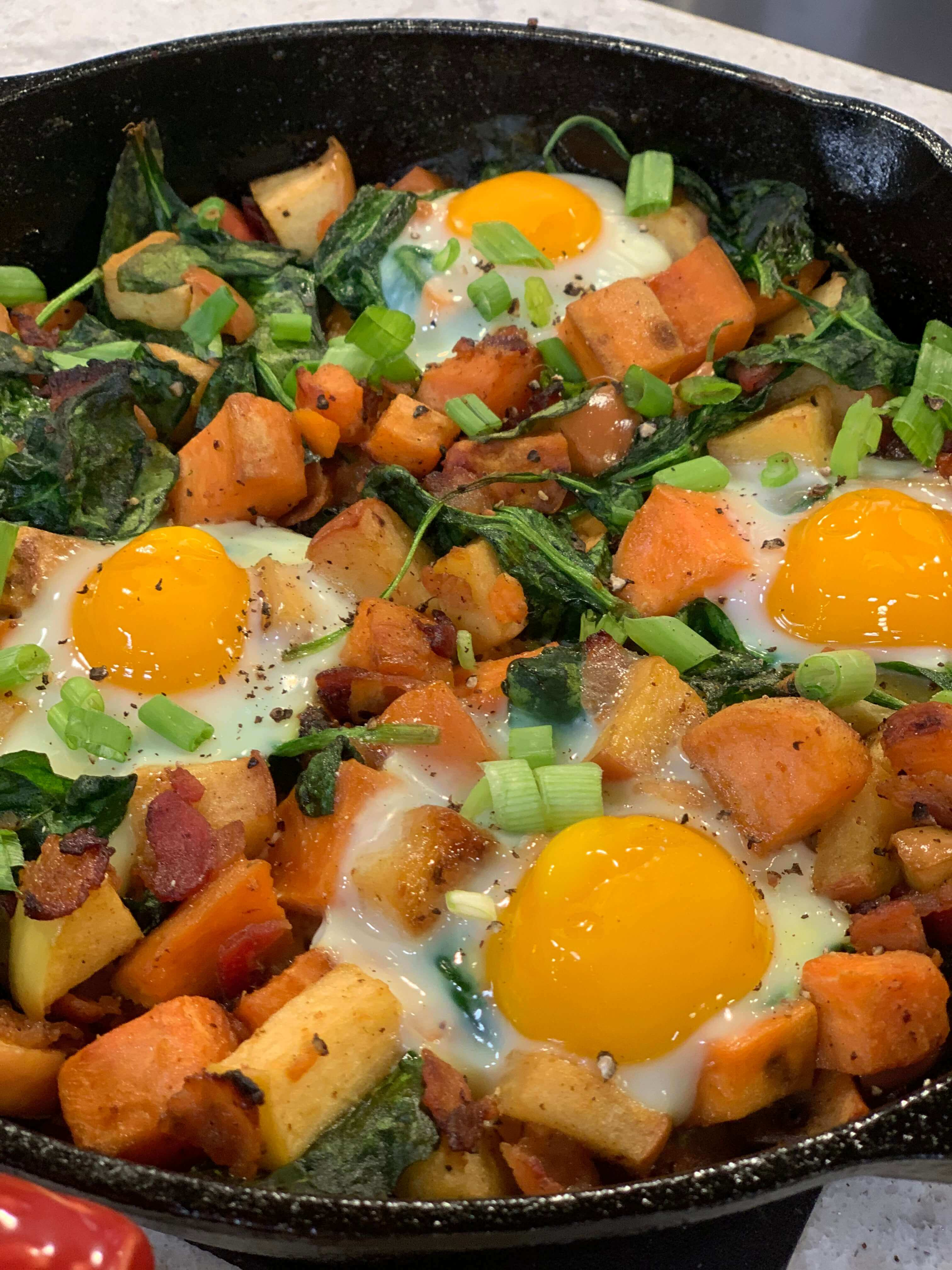 Holiday Recipes: Cosmic Crisp Breakfast Hash
