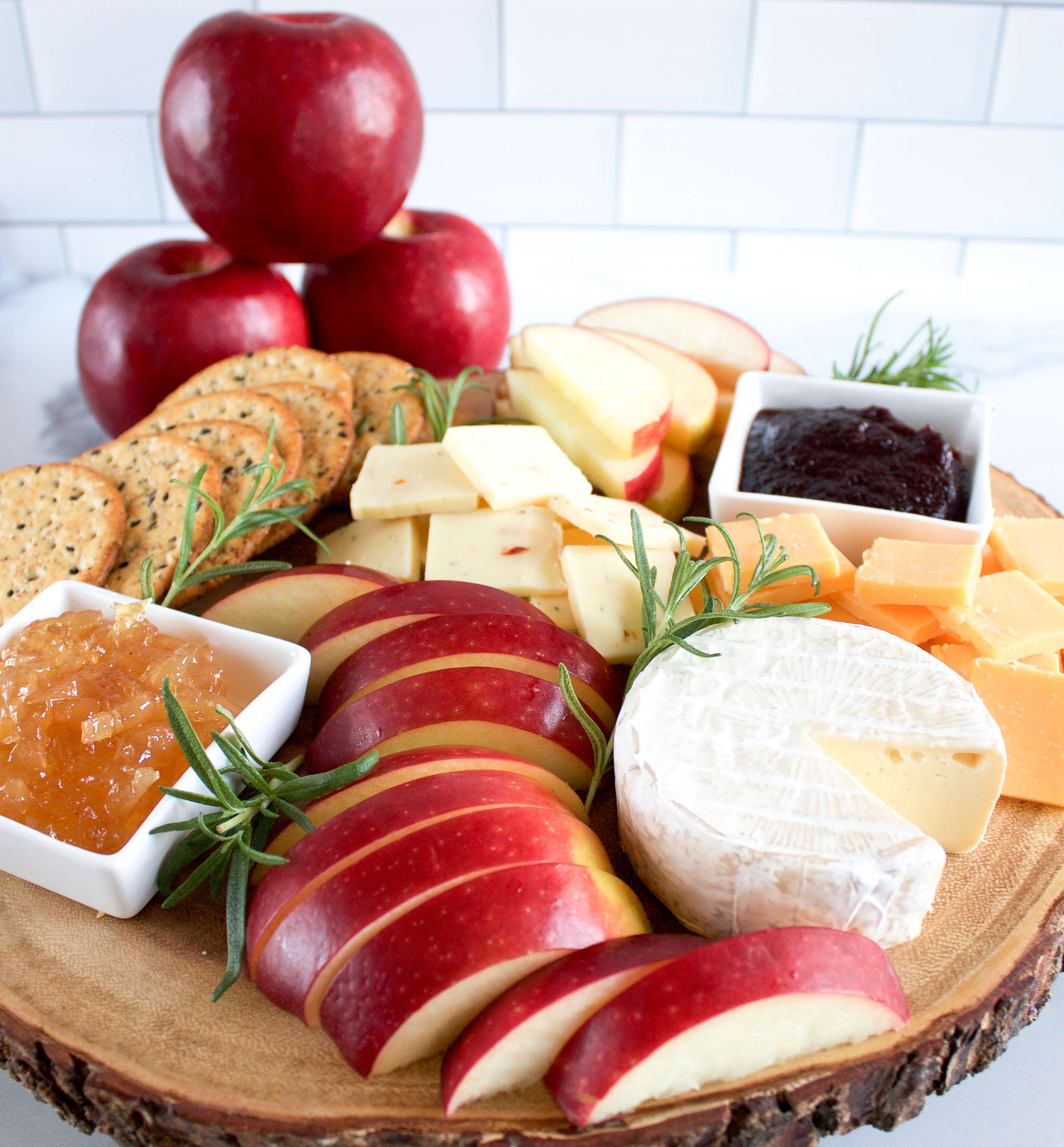 Cosmic Crisp® Apple Charcuterie Board