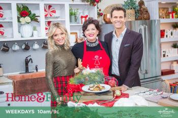 Celebrating the Holidays with Produce on Hallmark's Home & Family