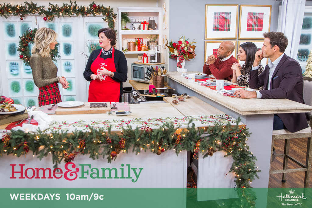 Celebrating the Holidays with Produce on Hallmark's Home & Family
